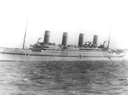 Anniversaire du naufrage du Britannic - Page 2 Britannic